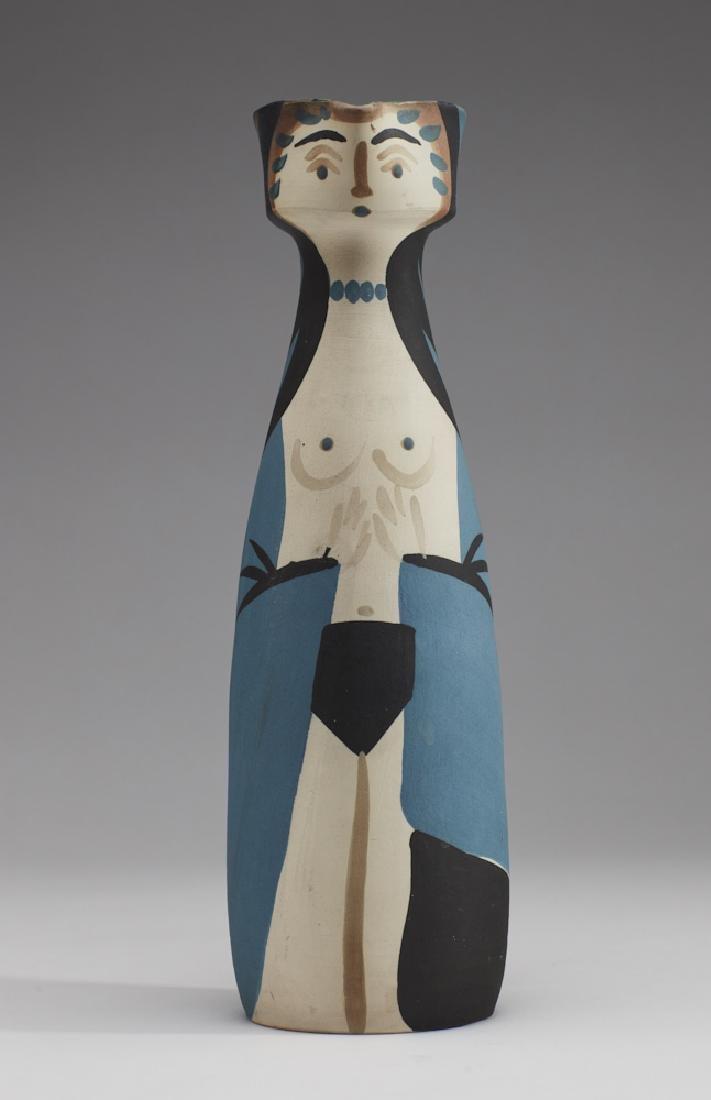 Pablo Picasso (1887-1973) Madoura - Femme Pitcher