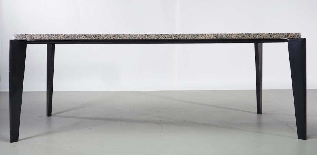 Jean Prouve Granito / Flavigny Prototype Table - 2
