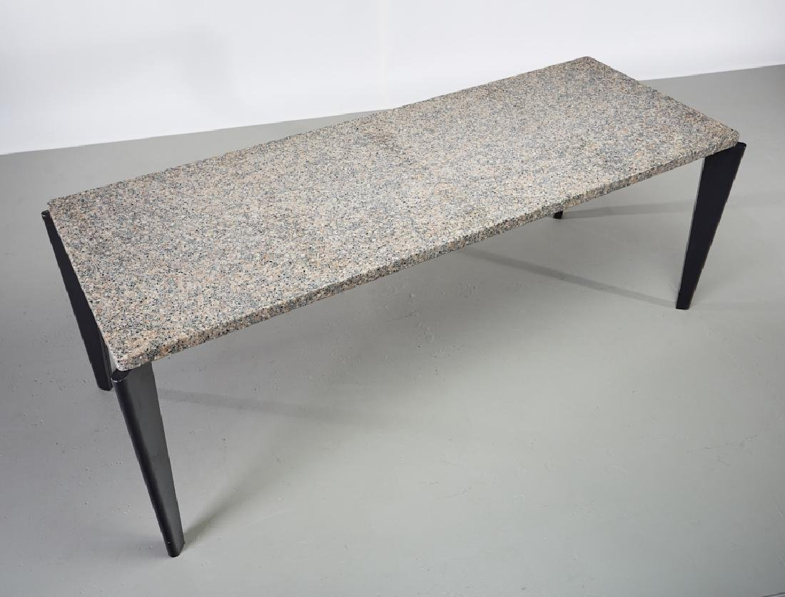 Jean Prouve Granito / Flavigny Prototype Table - 3