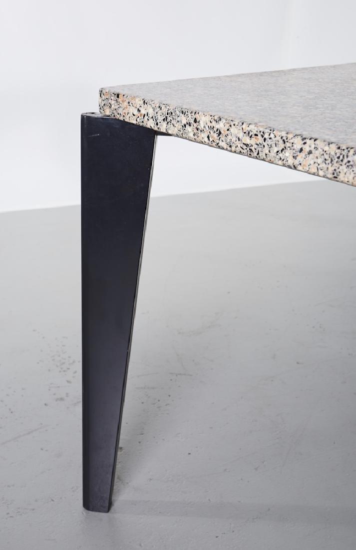 Jean Prouve Granito / Flavigny Prototype Table - 4