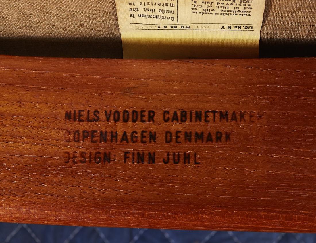 Pair of Finn Juhl Teak NV-53 Danish Lounge Chairs - 9