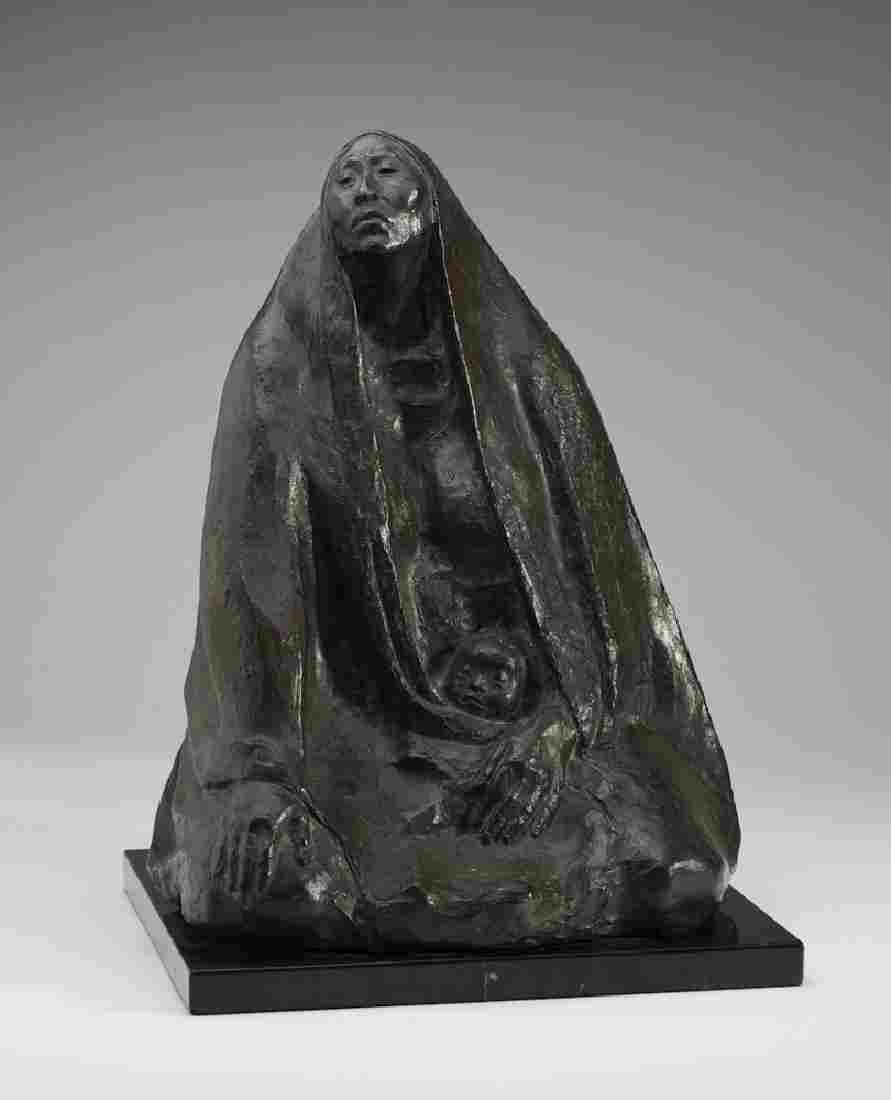 Francisco Zuniga (1912-1988) Bronze Sculpture