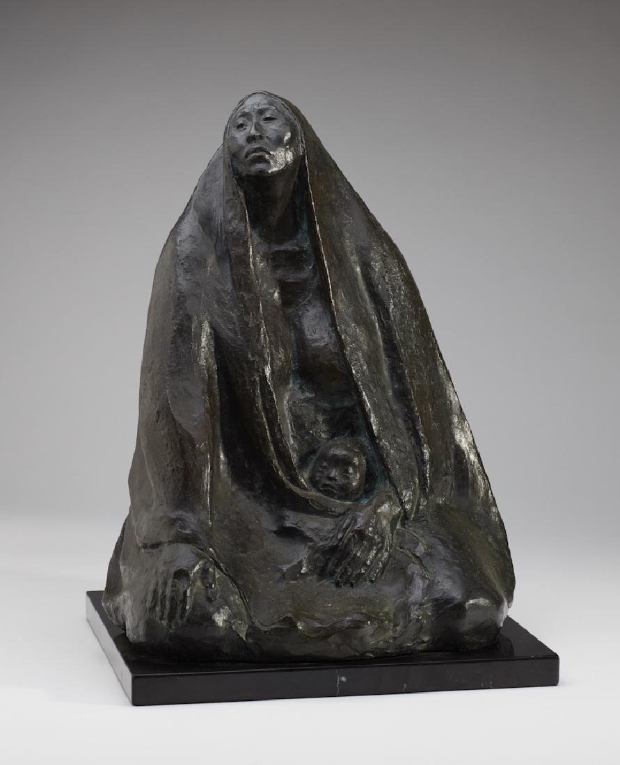 Francisco Zuniga (1912-1988) Bronze Sculpture