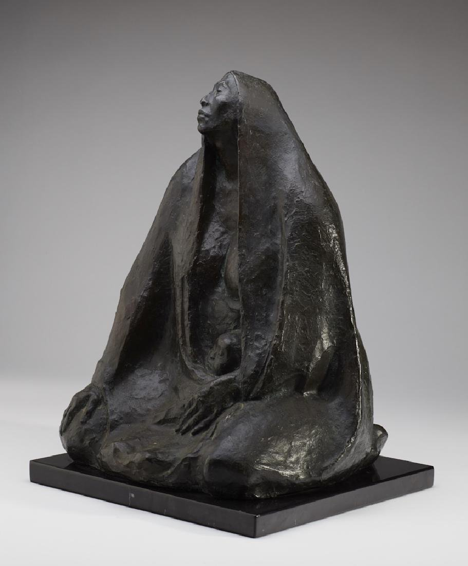 Francisco Zuniga (1912-1988) Bronze Sculpture - 3