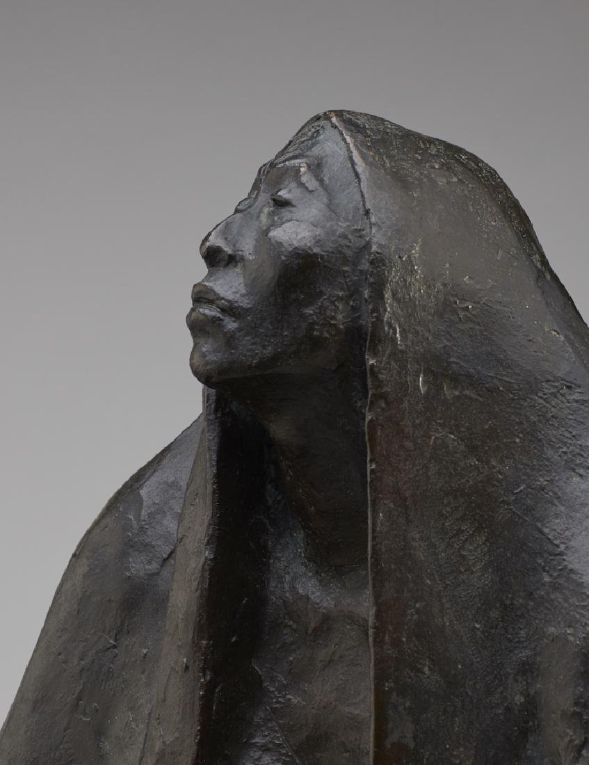 Francisco Zuniga (1912-1988) Bronze Sculpture - 4