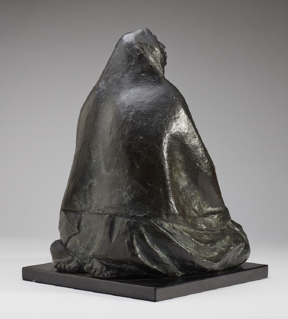 Francisco Zuniga (1912-1988) Bronze Sculpture - 7