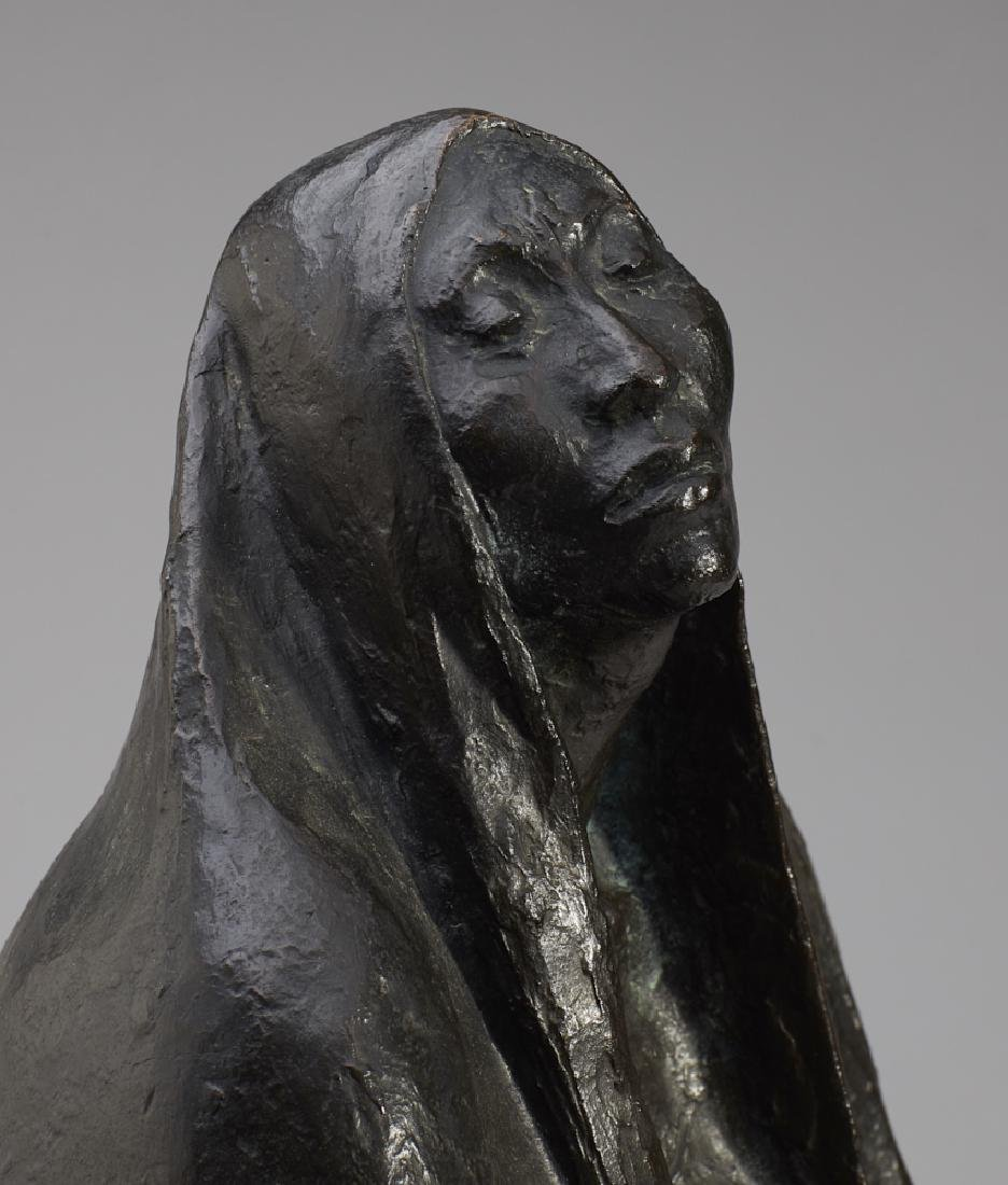 Francisco Zuniga (1912-1988) Bronze Sculpture - 8