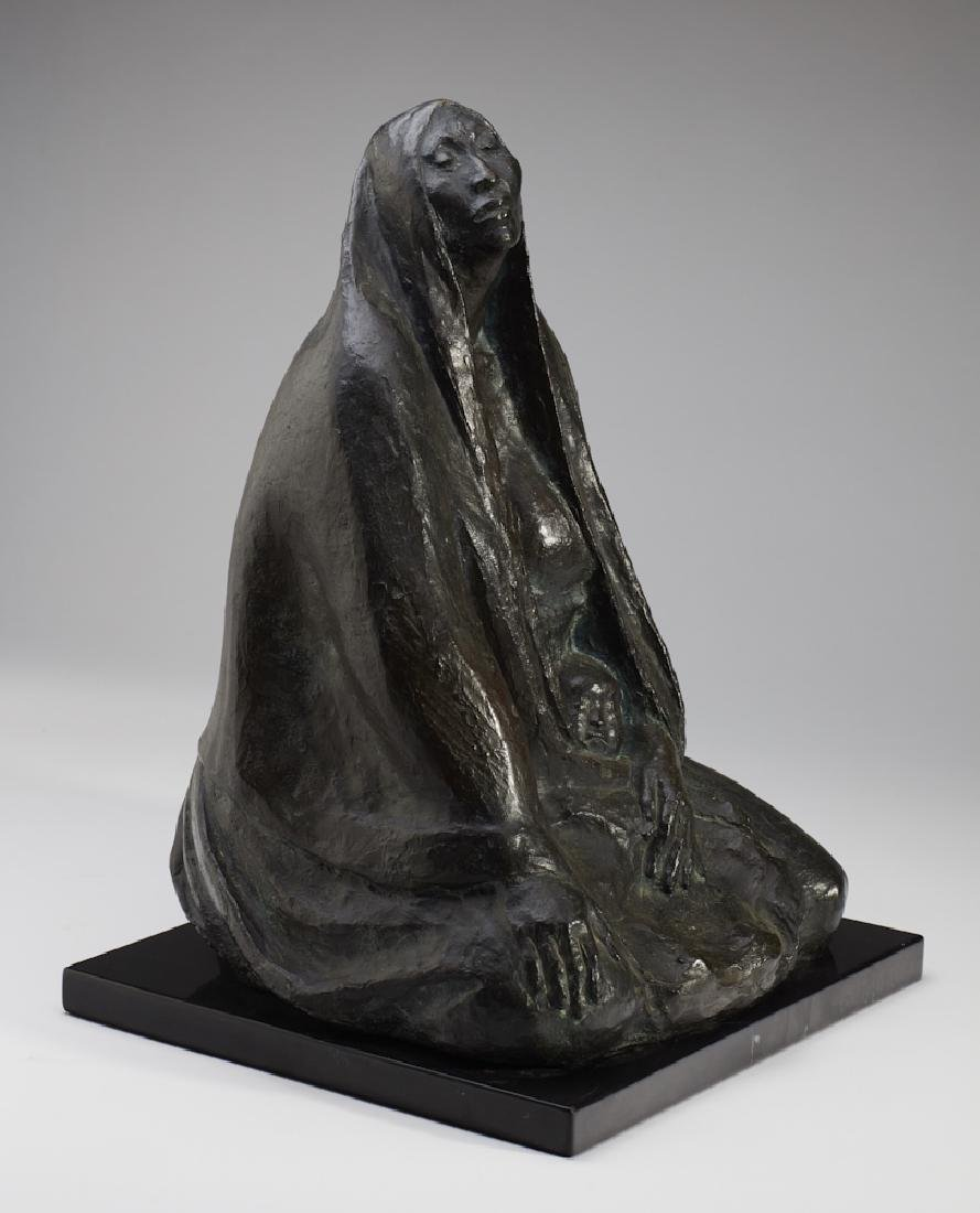 Francisco Zuniga (1912-1988) Bronze Sculpture - 9