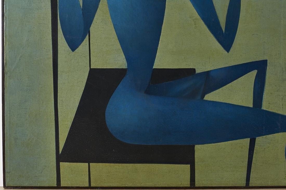 Mikulas Medek (Czech Rep, 1926-1974) Oil Painting - 6