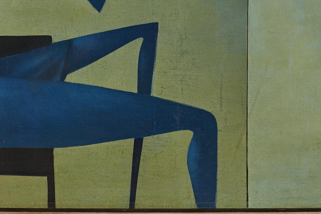 Mikulas Medek (Czech Rep, 1926-1974) Oil Painting - 9