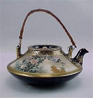 Kinkozan Satsuma Miniature Antique Japanese Teapot