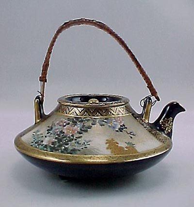 2: Kinkozan Satsuma Miniature Antique Japanese Teapot