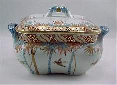 13: Fine Meiji Period Fukagawa Imari Serving Bowl