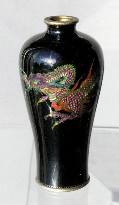 Miniature japanese dragon enamel cloisonne vase 193 miniature japanese dragon enamel cloisonne vase reviewsmspy
