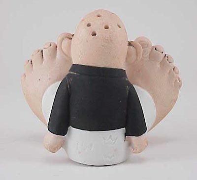 485: Schafer & Vater Happy Feet Boy Match Holder - 3