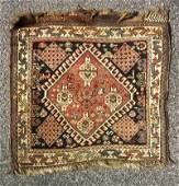 1071 Semi Antique 25x21 Caucasian Bag Face Rug