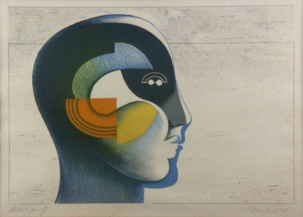 6: Original GEORGI DASKALOFF 1923- Artist Proof Print