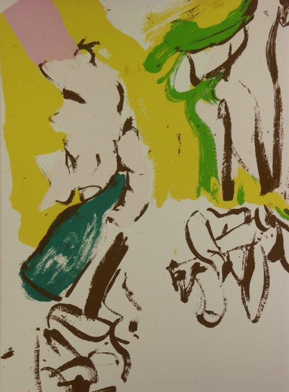 "8: signed Willem de Kooning (1904-1997) ""Beach"" Print - 2"