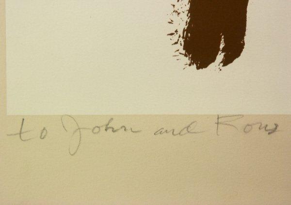 "8: signed Willem de Kooning (1904-1997) ""Beach"" Print - 4"