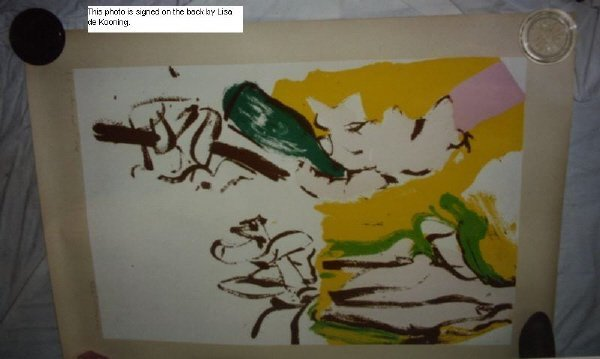 "8: signed Willem de Kooning (1904-1997) ""Beach"" Print - 6"