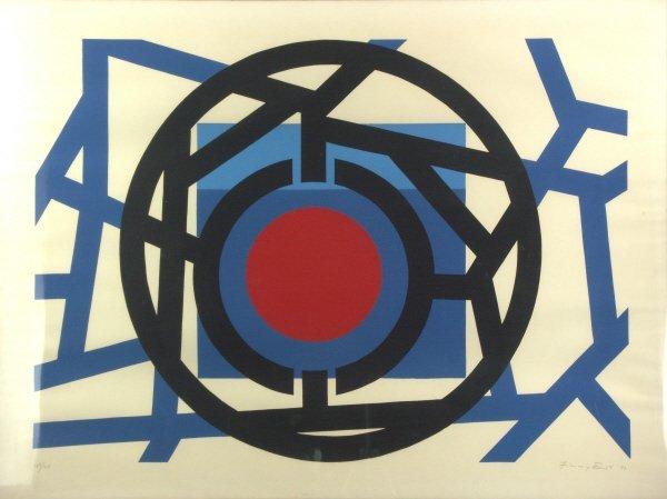 9: Jimmy Ernst (1920-1984) Original Lithograph Print