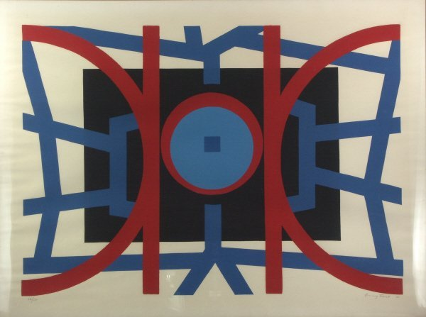 10: signed Jimmy Ernst (1920-1984) Lithograph Print