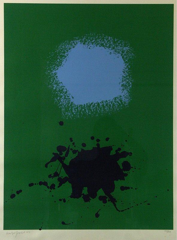 11: original ADOLPH GOTTLIEB (1903-1974) Abstract Print