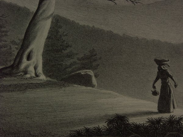 15: signed ELLISON HOOVER 1888-1955 Lithograph Print - 3