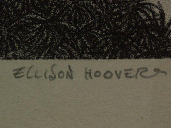 15: signed ELLISON HOOVER 1888-1955 Lithograph Print - 4
