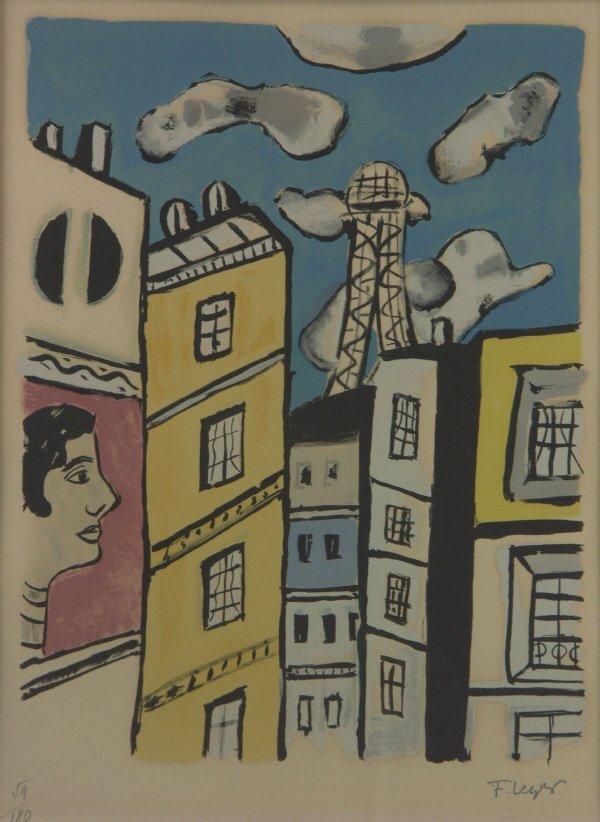 20: Fernand Leger (1881-1995) Color Lithograph Print