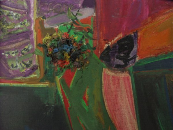75: Roger Bezombes (French, 1913-1994) o/c Oil Painting - 6