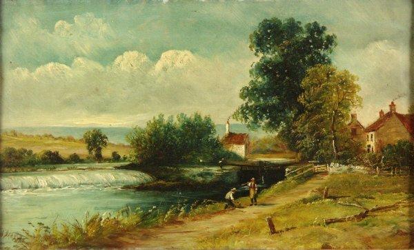 106: Henry Harris (British 1852-1926) Pair of Paintings - 2