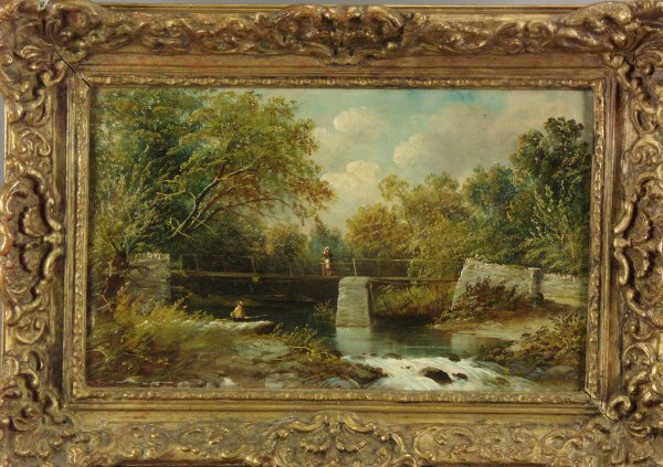 106: Henry Harris (British 1852-1926) Pair of Paintings - 3