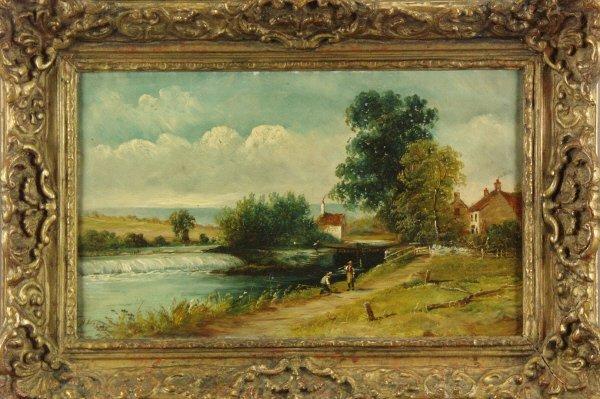 106: Henry Harris (British 1852-1926) Pair of Paintings - 4