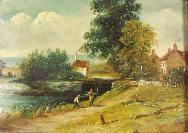 106: Henry Harris (British 1852-1926) Pair of Paintings - 6
