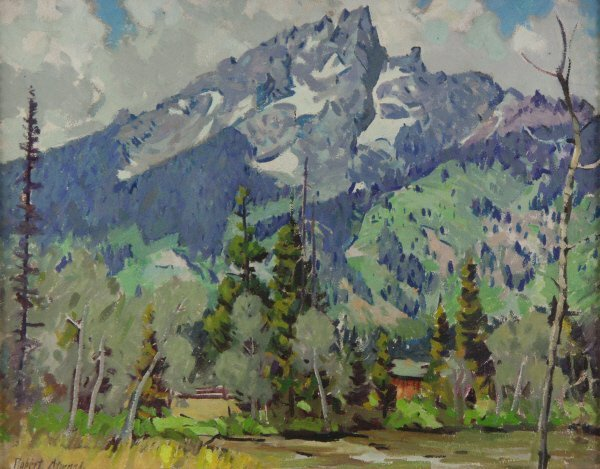 146: Robert Atwood ( American 1892-1970) Oil Painting