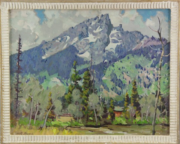146: Robert Atwood ( American 1892-1970) Oil Painting - 2