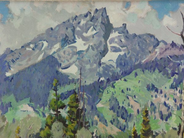 146: Robert Atwood ( American 1892-1970) Oil Painting - 3