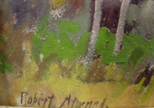 146: Robert Atwood ( American 1892-1970) Oil Painting - 6