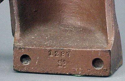174: Old Rare Vintage Cast Iron Owl Doorstop Door Stop - 3