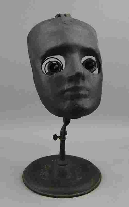 Circa 1900 Whole Face Ophthalmophantome Optical