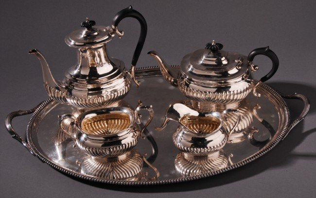 10: Birks Canada Sterling Tea & Coffee Service