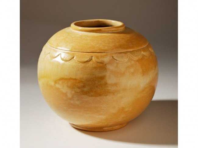 4: Frankoma Art Pottery Signed Frank Potteries Vase
