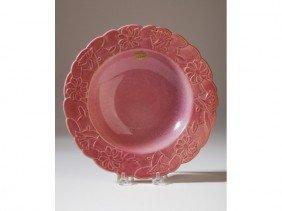 5: Original Label Frankoma Art Deco Art Pottery Bowl