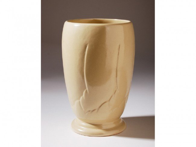 7: Frankoma American Art Pottery Tall Art Deco Vase