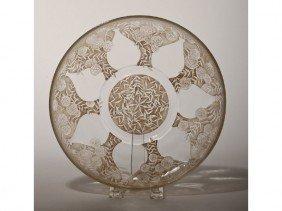 15: French Art Deco signed DVA France Glass Bowl