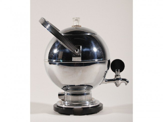 20: Art Deco Manning - Bowman Chrome 3-pc. Coffee Set - 2