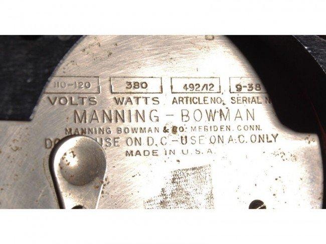 20: Art Deco Manning - Bowman Chrome 3-pc. Coffee Set - 5