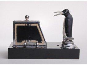 22: Art Deco Penquin Cigarette Ronson PIK-A-CIG
