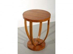 Art Deco Round Mahogany 1920s-30's Table